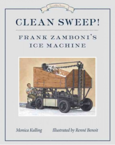 Clean Sweep Frank Zamboni's Ice Machine